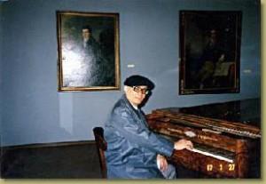 Tezuka at Beethoven's Piano