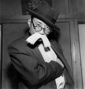 Osamu Tezuka as Higeoyaji